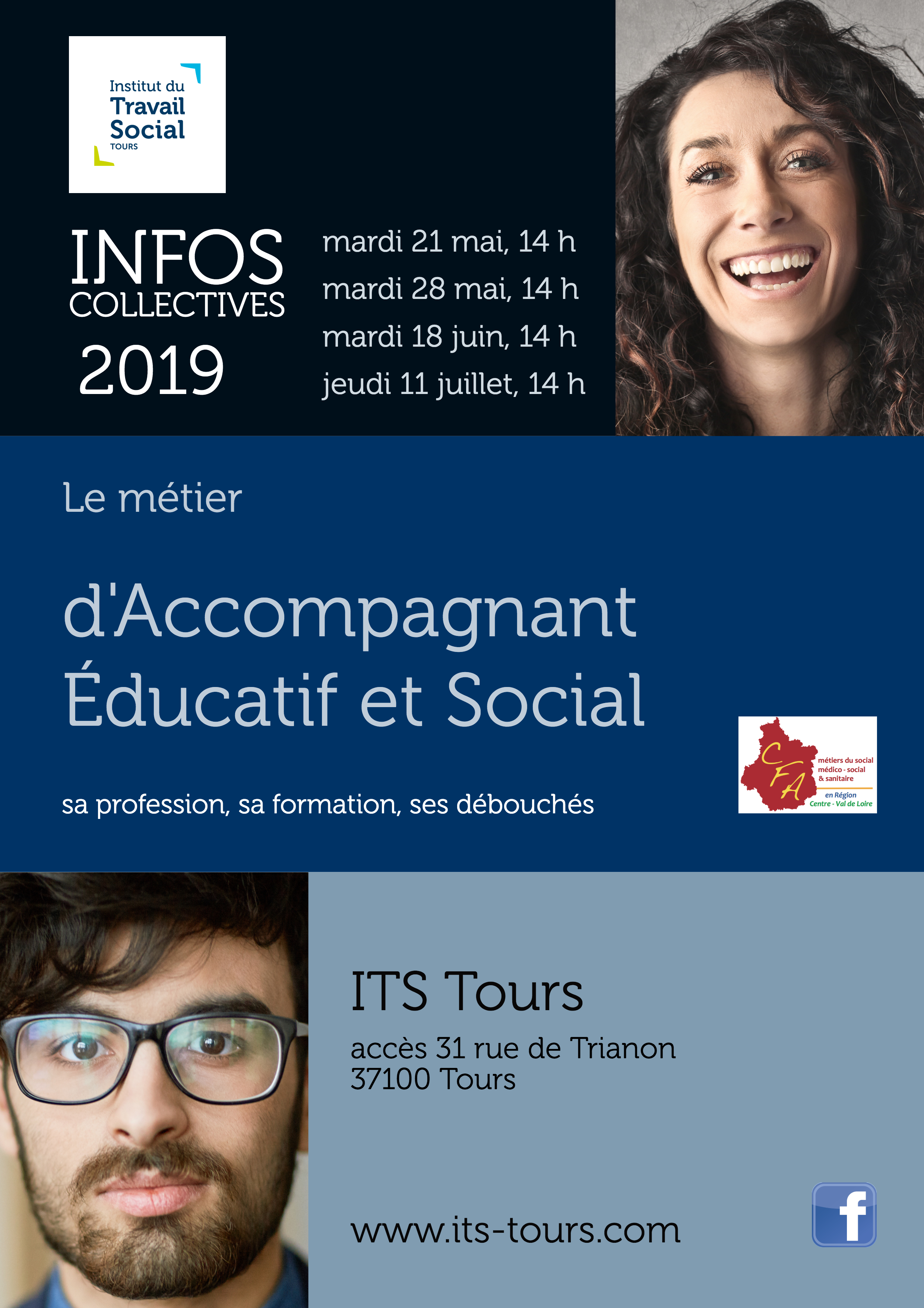 Flyer info coll AES ITS Tours 18 juin 2019